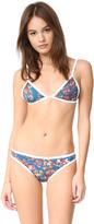 Tavik Jet Triangle Bikini Top