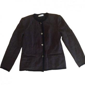 Cacharel Brown Wool Coats