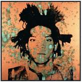 McGaw Graphics Jean-Michel Basquiat, 1982 by Andy Warhol (Framed)