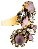 Erickson Beamon Crystal Bypass Ring