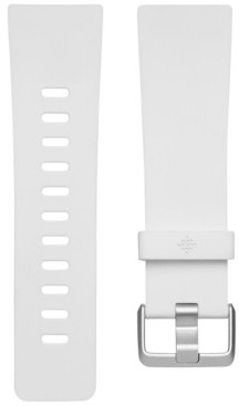 Fitbit Versa White Elastomer Classic Accessory Band