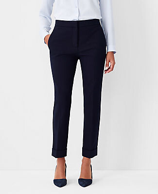 Ann Taylor The Petite High Waist Ankle Pant - Curvy Fit