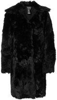 Ann Demeulemeester reversible shearling coat