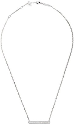 Chopard 18kt white gold Ice Cube Pure diamond necklace