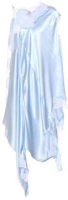 Vetements Lace-trimmed silk dress