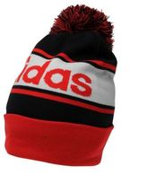 adidas Kids Linear Woolie Hat Junior Boys Knitted Snow Winter Warm Accessories
