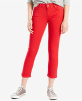 Levi's Mid-Rise Cropped Skinny Jeans