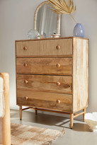 Urban Outfitters Olivia Tall 4-Drawer Dresser