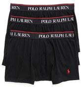 Polo Ralph Lauren Men's 3-Pack Stretch Cotton Boxer Briefs