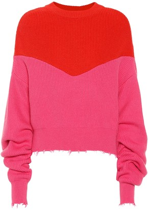 Unravel Cotton and cashmere sweater