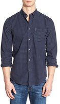 Ben Sherman Men's Mod Fit Gingham Sport Shirt
