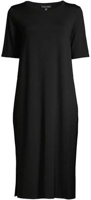 Eileen Fisher Shift Midi Dress