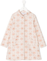 Tartine et Chocolat floral print coat - kids - Cotton/Polyester/Metallic Fibre - 6 yrs