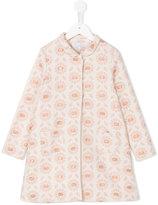 Tartine et Chocolat floral print coat