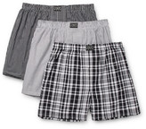 Polo Ralph Lauren Three-pack Cotton Boxer Shorts - Gray