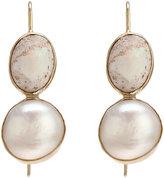 Sandra Dini Opal & Pearl Earrings