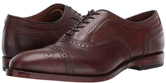 Allen Edmonds Strand (Carbon) Men's Lace Up Cap Toe Shoes