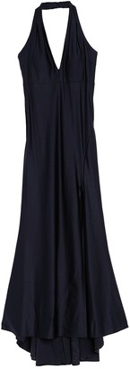 Jump Satin Halter Neck Gown