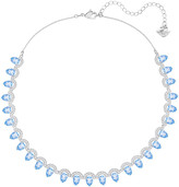 Swarovski Gallery Pear All-Around Necklace, Blue