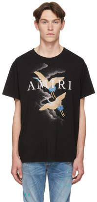 Amiri Black Crane T-Shirt
