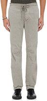 James Perse Men's Cotton Drawstring Trousers-GREY