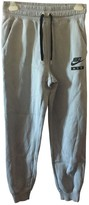 Nike Blue Cotton Trousers