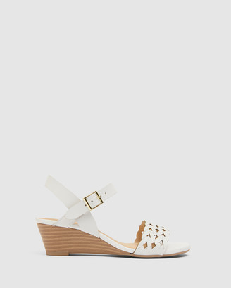 Easy Steps - Women's White Sandals - Callum - Size One Size, 7 at The Iconic