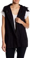 Velvet by Graham & Spencer Faux Fur Trim Vest