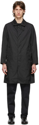 MACKINTOSH Black Dunkeld Coat