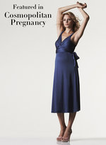 Isabella Oliver Maternity Midi Empire Dress