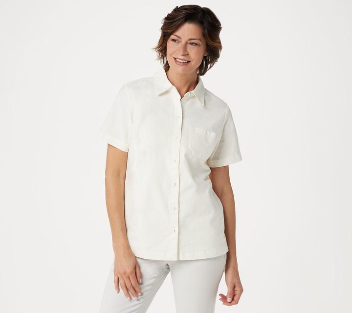 official store online for sale noveldesign Denim & Co. Women's Tops - ShopStyle