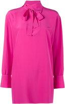 Valentino high neck blouse - women - Silk - 42