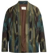 Etro Printed Wool And Cotton-blend Jacket