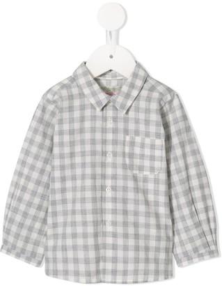 Bonpoint Long-Sleeved Check Shirt