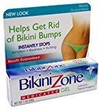 Bikini Zone Medicated Gel, 1 oz (28 g) (Pack of 3) by