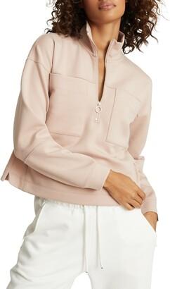 Reiss Etta Half Zip Pullover