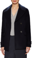 Vince Wool Double Breasted Peacoat