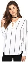 Kensie Straight Lines Top KS2K40S4 Women's T Shirt