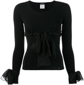 Chanel Pre Owned 2004's decorative bows blouse