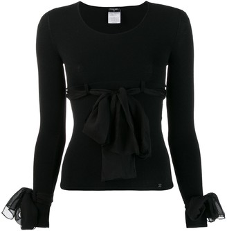 Chanel Pre-Owned 2004's decorative bows blouse