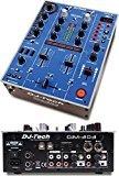 DJ TECH Twin Usb - 2ch Dj Mixer W/9 Effects Including In-Loopsampler In Blue