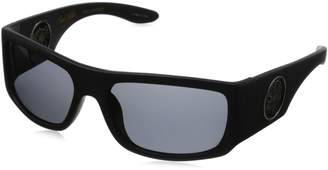 Black Flys Christian Fletcher Racer Fly Polarized Wrap Sunglasses