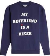 Zoe Karssen Graphic Cotton Sweatshirt