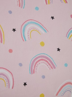 Catherine Lansfield Magical Unicorns Cotton Rich Fitted Sheet