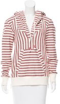 Rebecca Minkoff Patterned Hooded Top