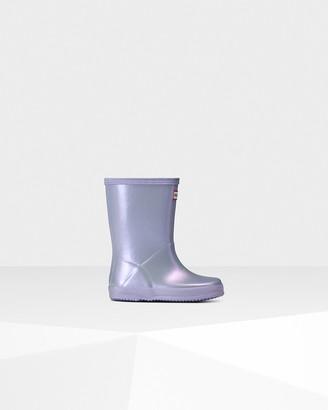 Hunter Original Kids First Classic Nebula Wellington Boots