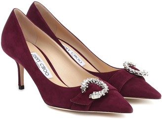 Jimmy Choo Saresa 65 suede pumps