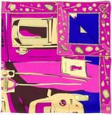 Emilio Pucci London-print scarf