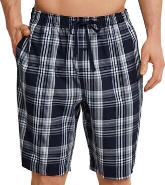 Schiesser Men's Mix & Relax Bermuda Pyjama Bottoms