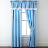 Asstd National Brand Blue Floral 2-Pack Curtain Panels